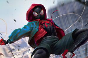 Spiderman V Venom Art