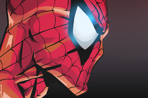 Spiderman Vector Concept Art