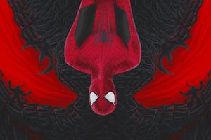 Spiderman Venom Art