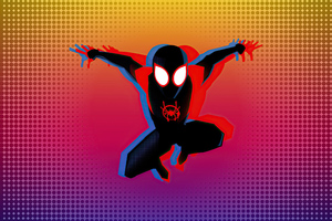 Spiderman Vibrant Art 4k
