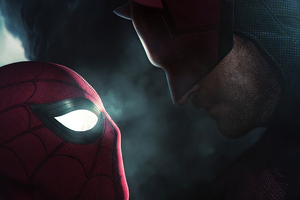 Spiderman Vs Daredevil
