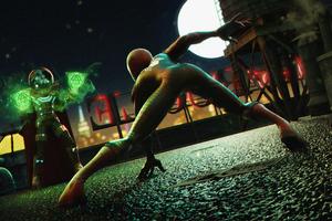 Spiderman Vs Mysterio Wallpaper