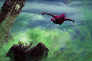 Spiderman Vs Mysterio 4k Art Wallpaper
