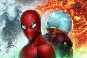 Spiderman Vs Mysterio 4k In Marvel Future Fight