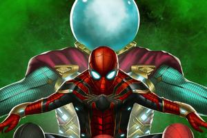 Spiderman Vs Mysterio 4k New