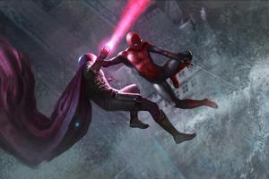 Spiderman Vs Mysterio New Art
