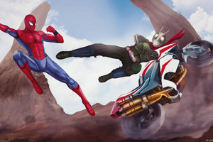 Spiderman Vs Supervillian