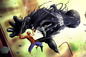 Spiderman Vs Venom Arts