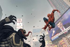Spiderman Vs Venom Menace