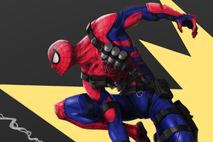 Spiderman With Arms 4k Wallpaper
