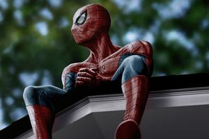 Spiderman X J Cole 5k Wallpaper