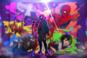 Spiderverse 4kart Wallpaper
