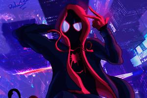 Spiderverse Animated 4k Wallpaper
