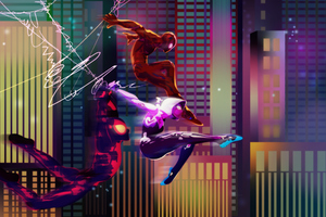 Spiderverse Illustration 2019