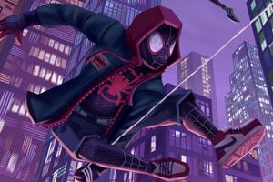 Spiderverse Miles Wallpaper