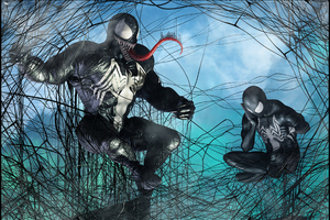 Spidey And Venom
