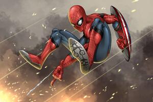 Spidey Captain America Civil War