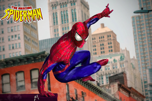 Spidey From The Amazing Spiderman