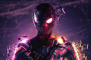 Spidey Venom 4k Wallpaper
