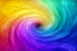 Spiral Colorful Abstract