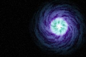 Spiral Galaxy Abstract 4k