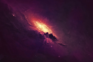 Spiral Galaxy Space Stars Universe 4k Wallpaper