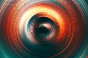 Spiral Illusion Wallpaper
