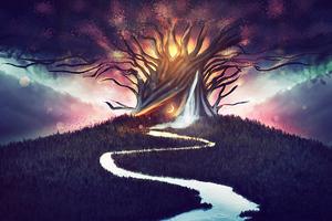Spiritual Prayer Tree