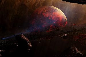 Split Bullet Planet 4k