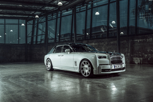 Spofec Rolls Royce Phantom 2019 8k Wallpaper