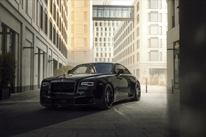 Spofecs Rolls Royce Black Badge Wraith Wallpaper