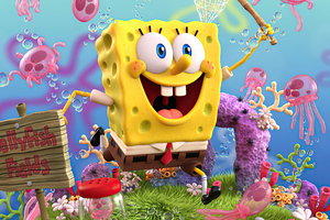 SpongeBob SquarePants 4k 2020 Wallpaper