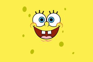 Spongebob Squarepants Minimalist 4k