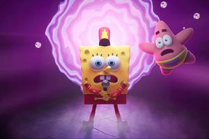 SpongeBob SquarePants The Cosmic Shake 2 2021 5k Wallpaper