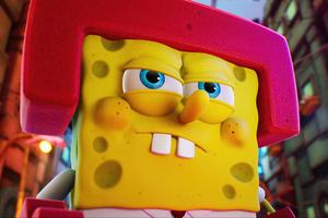 SpongeBob SquarePants The Cosmic Shake 2 5k Wallpaper