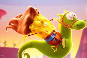 SpongeBob SquarePants The Cosmic Shake Wallpaper