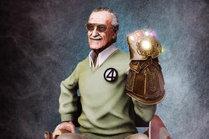 Stan Lee Infinity Gauntlet Wallpaper