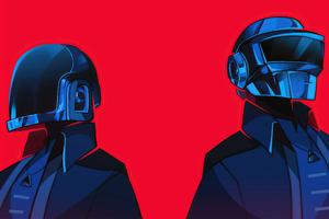 Star Boy Inspired Daft Punk 4k