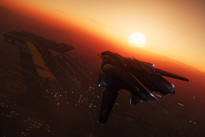 Star Citizen 3 Sabre 4k