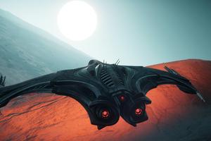 Star Citizen Game Spaceship Wallpaper
