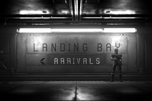Star Citizen Landing Bay 4k