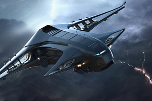 Star Citizen Space Ship 2017