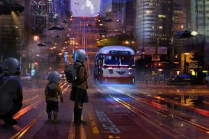 Star City Bus Stop 5k