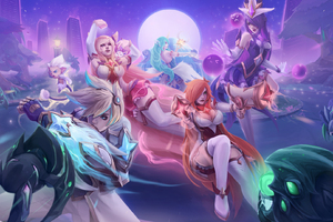 Star Guardian Invasion Game Fan Art Wallpaper