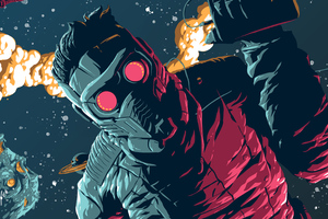 Star Lord 4k New Artwork Wallpaper