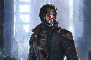 Star Lord Artnew Wallpaper