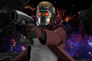 Star Lord Digital Art