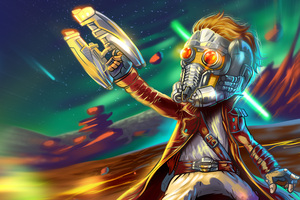 Star Lord Guardians Of The Galaxy Art