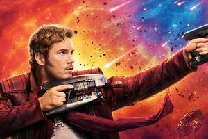Star Lord Guardians Of The Galaxy Vol 2 4k 8k Wallpaper