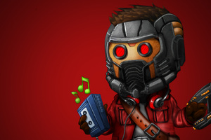 Star Lord Listening Music